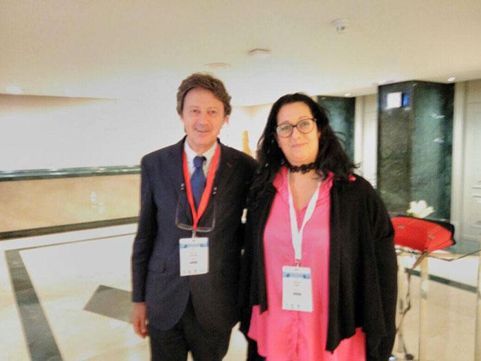 Com Dr. Nestor Szerman, presidente do congresso