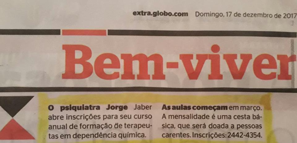 Clínica Jorge Jaber no jornal Extra