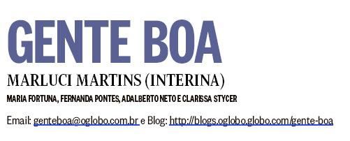 Alegria Sem Ressaca na coluna Gente Boa, de O Globo