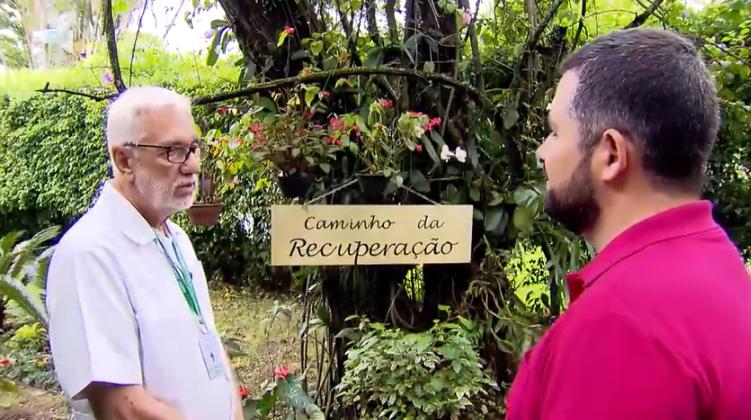 Clínica Jorge Jaber no Esporte Fantástico, da TV Record