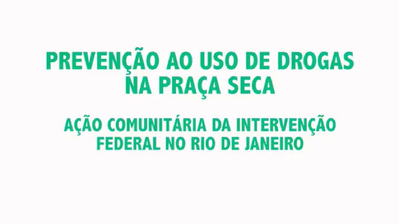 Clínica Jorge Jaber na ação social que o Gabinete da Intervenção Federal realizou na Praça Seca, em Jacarepaguá