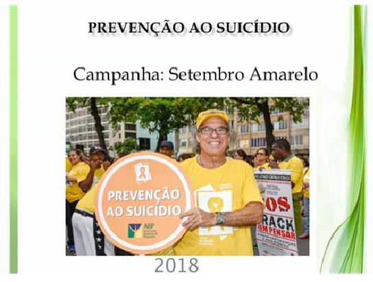 Setembro Amarelo na Clinica Jorge Jaber 2018