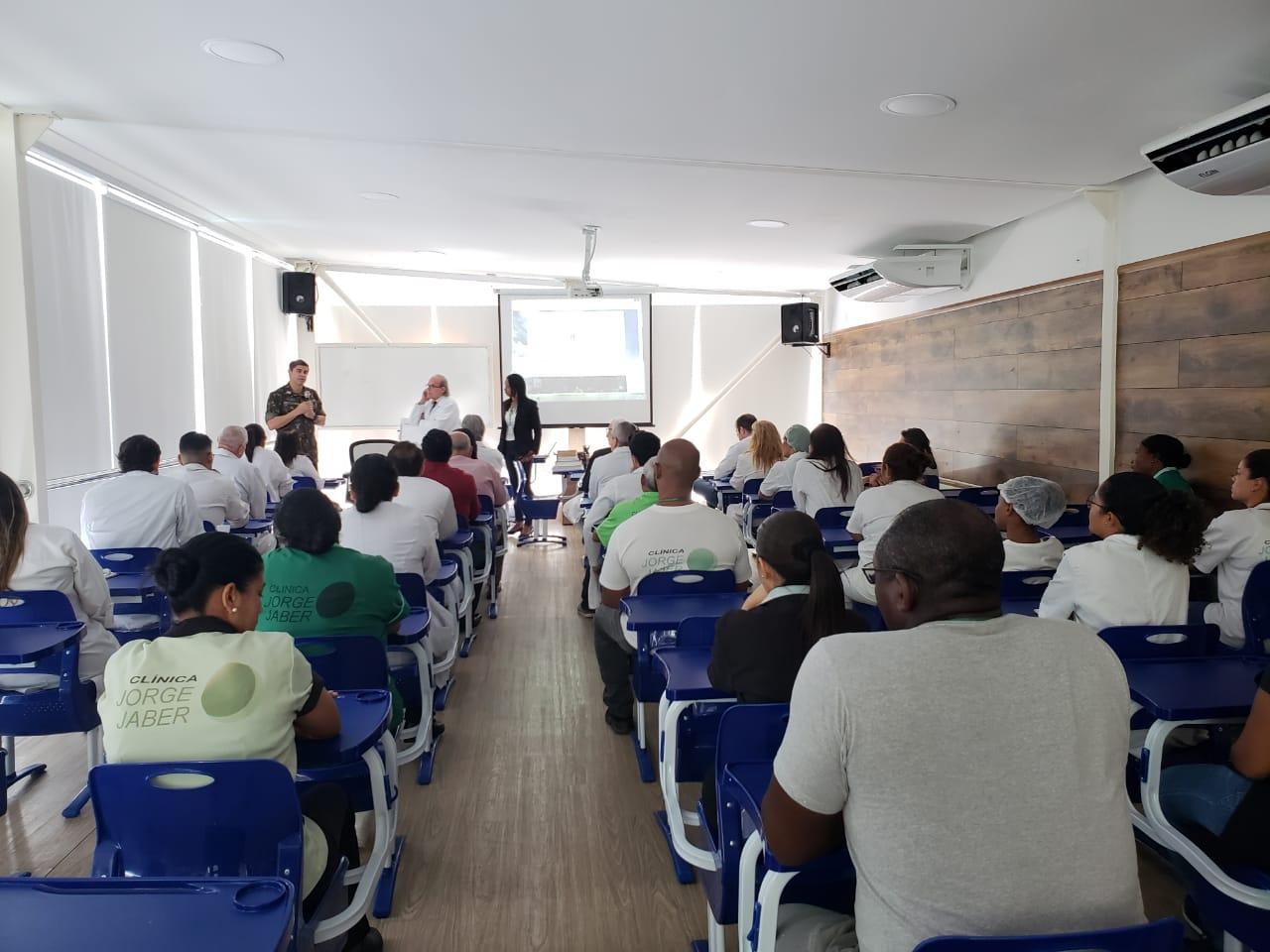 Clínica Jorge Jaber e a Universidade Gama e Souza oferecem curso em Emergências Psiquiátricas e Clínicas