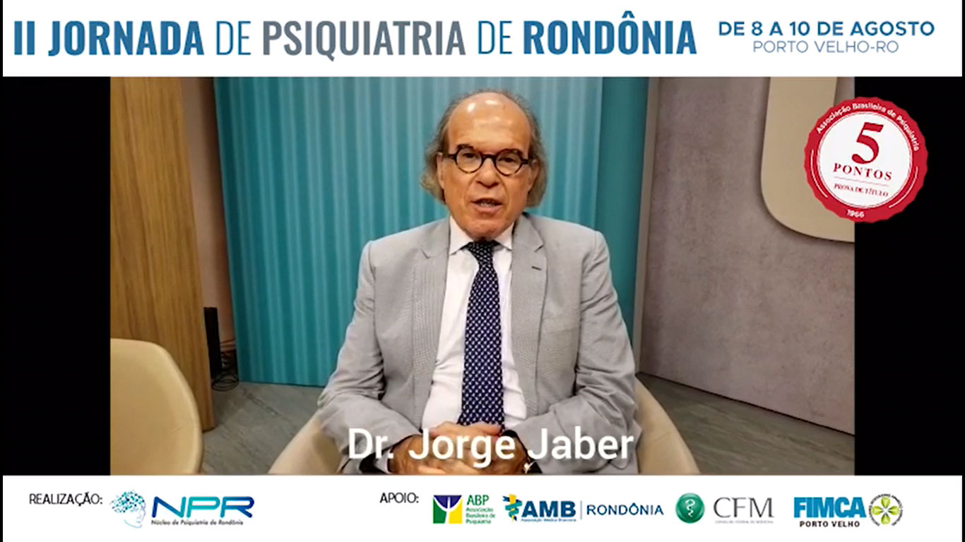 Dr. Jorge Jaber faz convite para a II Jornada de Psiquiatria de Rondônia