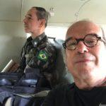 Dr. Jorge Jaber com o general Carlos Teixeira