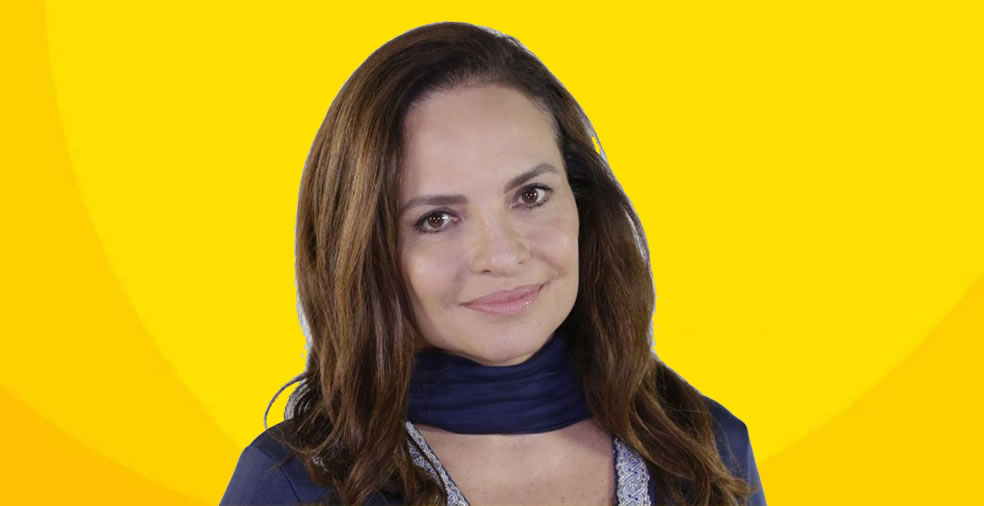 Atriz Luiza Tomé abraça o Setembro Amarelo