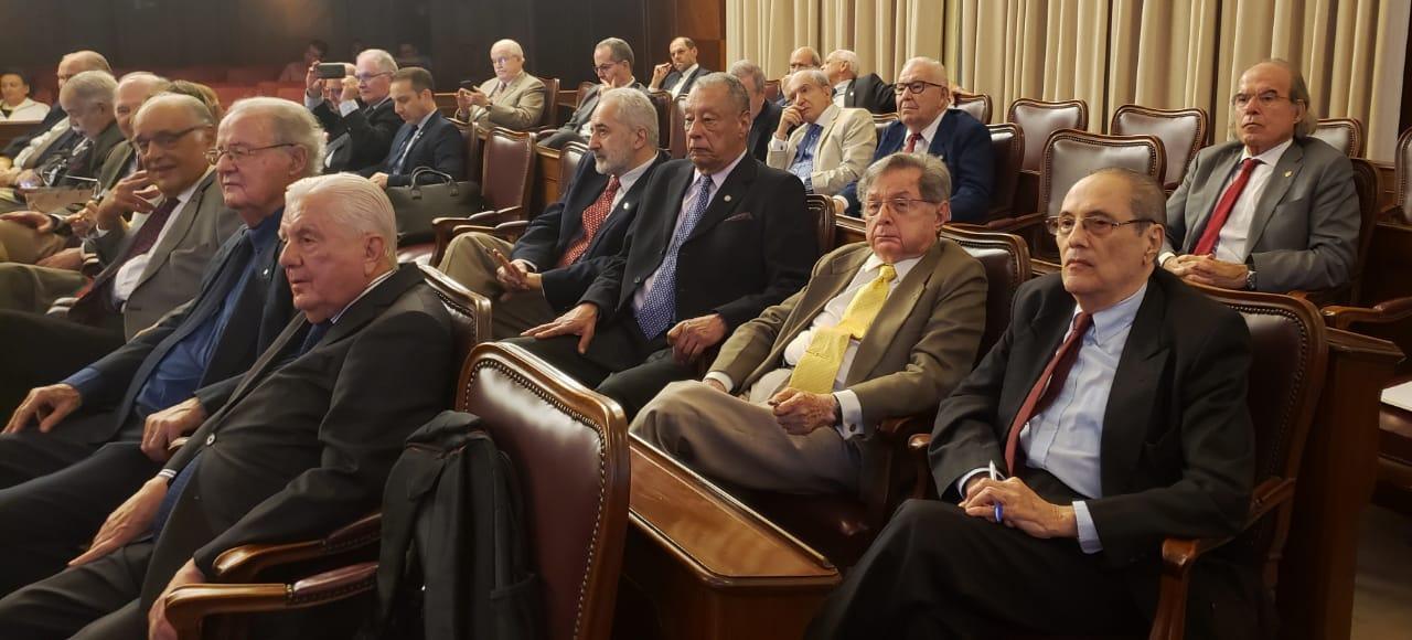 Dr. Jorge Jaber participa como Grande Benfeitor de Simpósio na Academia Nacional de Medicina