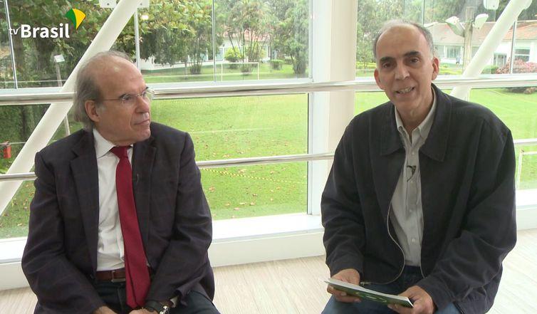 Dr. Jorge Jaber no programa Bate-Bola da TV Brasil