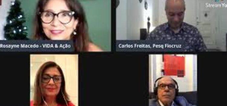 Confira como foi Live sobre Covid-19 e festas de fim de ano, que contou com a participação do Dr. Jorge Jaber