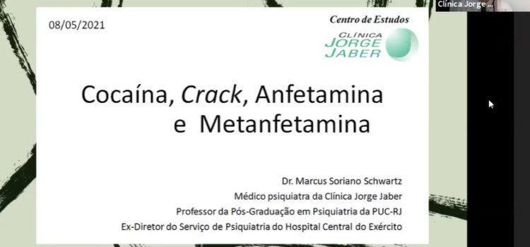 Cocaína, Crack, Anfetamina e Metanfetamina
