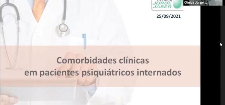 Comorbidades clínicas em pacientes psiquiátricos internados